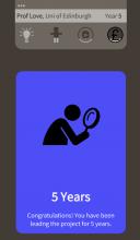Screenshot of pathfinder game